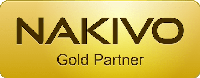 NAKIVO Gold Partner - logo